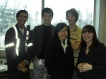 Myself and the other co-ops working at Petro-Canada in 2009, refinery in the background!